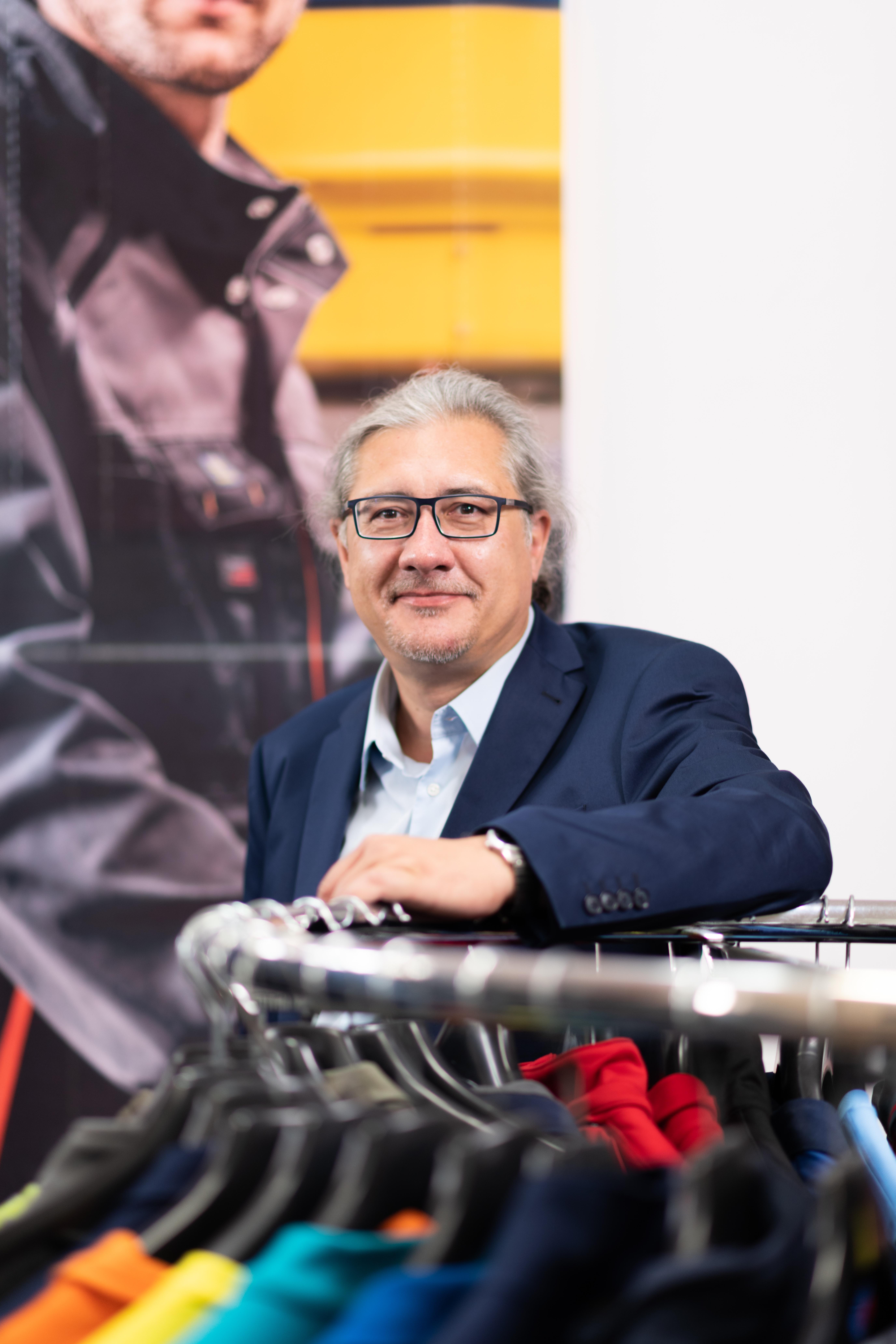 Geschäftsführer Ing. Mag. Thiemo Götzl © Ötscher Berufskleidung